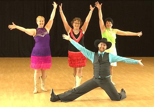 Uppvisning i Linköping under Dansens Vecka