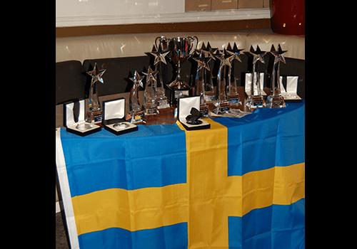 Våra priser efter världsmästerskapet i linedance 2011.