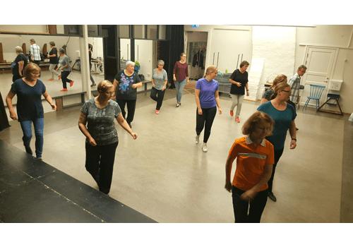Dansare från en av våra kvällsgrupper.